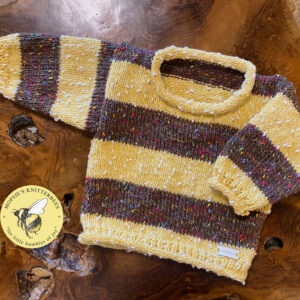 Brimble Bee Handmade Knitted Baby Jumper