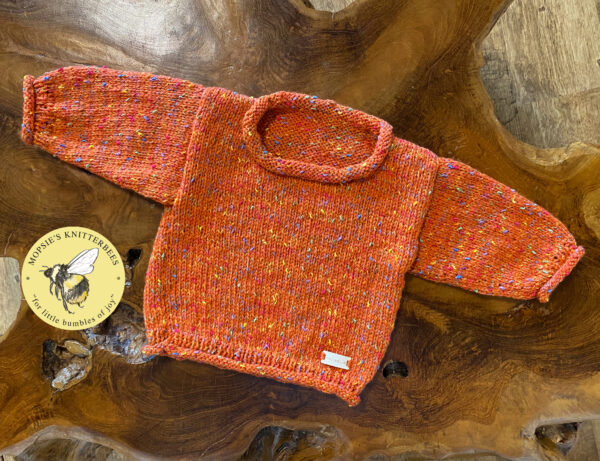 Snuggly Spice Baby Jumper