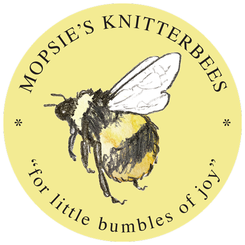 """Mopsie's Knitterbees """"for little bumbles of joy"""""""